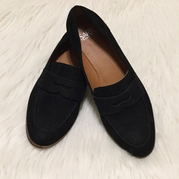 77383beb3d8 Franco Sarto Shoes - Franco Sarto Jolette Penny Loafer Black Nubuck